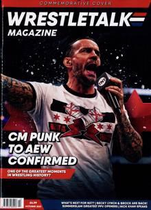Wrestletalk Magazine OCT 21 Order Online