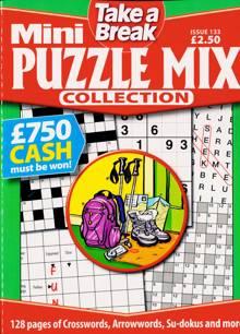 Tab Mini Puzzle Mix Coll Magazine Issue NO 133