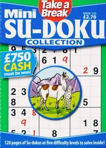 Tab Mini Sudoku Collection Magazine Issue NO 133