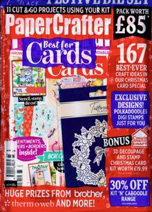 Papercrafter Magazine Issue NO 165