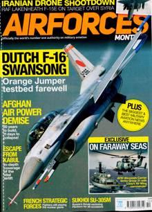 Airforces Magazine OCT 21 Order Online