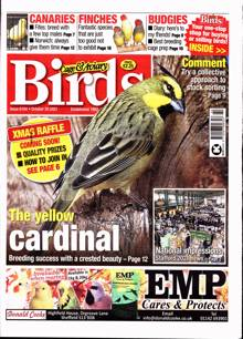 Cage And Aviary Birds Magazine Issue 20/10/2021