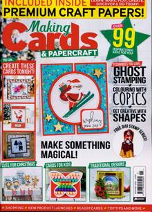 Making Cards Magazine NOV-DEC Order Online