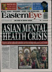 Eastern Eye Magazine 15/10/2021 Order Online