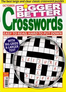 Bigger Better Crosswords Magazine NO 10 Order Online