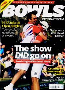 Bowls International Magazine OCT 21 Order Online