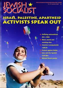 Jewish Socialist Magazine 75 Order Online