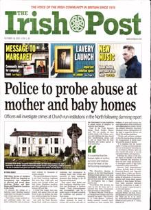 Irish Post Magazine 16/10/2021 Order Online