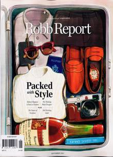Robb Report Us Edition Magazine Issue SEP 21