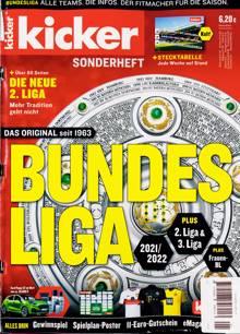 Kicker Bundesliga Magazine Issue 01