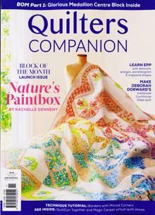Quilters Companion Magazine Issue N110