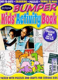 Eclipse Bumper Kids Activity Book Magazine NO 9 Order Online