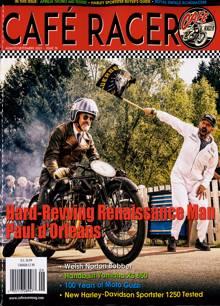 Cafe Racer Magazine Issue AUG-SEP