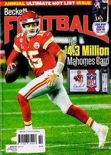 Beckett Nfl Football Magazine Issue OCT 21