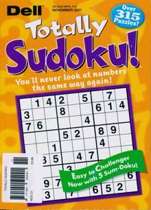 Totally Sudoku Magazine NOV 21 Order Online