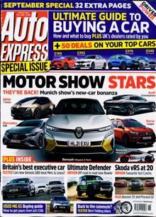 Auto Express Specials Magazine 08/09/2021 Order Online