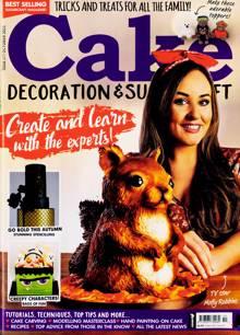 Cake Decoration Sugarcraft Magazine Issue OCT 21