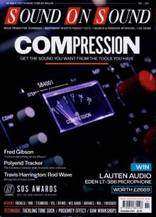 Sound On Sound Magazine NOV 21 Order Online