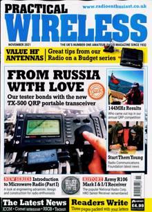 Practical Wireless Magazine NOV 21 Order Online