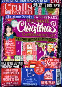 Crafts Beautiful Magazine XMAS 21 Order Online