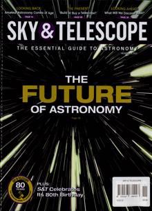 Sky And Telescope Magazine NOV 21 Order Online