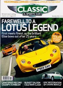 Classic & Sportscar Magazine NOV 21 Order Online
