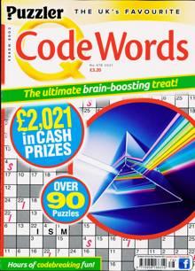 Puzzler Q Code Words Magazine NO 478 Order Online