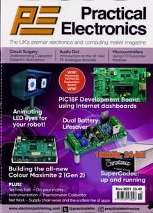 Practical Electronics Magazine NOV 21 Order Online