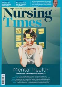 Nursing Times Magazine OCT 21 Order Online