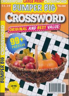 Bumper Big Crossword Magazine NO 150 Order Online