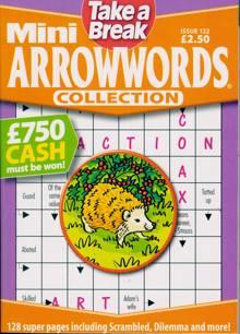 Tab Mini Arrowwords Coll  Magazine NO 122 Order Online