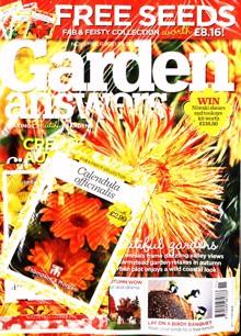 Garden Answers Magazine Issue NOV 21