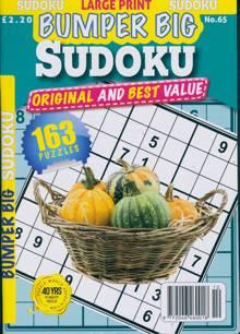 Bumper Big Sudoku Magazine NO 65 Order Online