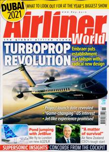 Airliner World Magazine NOV 21 Order Online