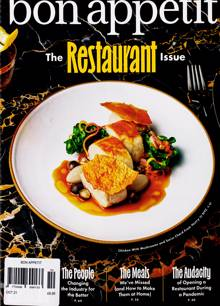 Bon Appetit Magazine OCT 21 Order Online