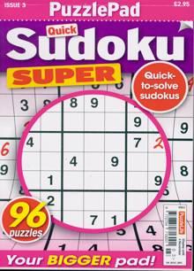 Puzzlelife Sudoku Super Magazine NO 3 Order Online