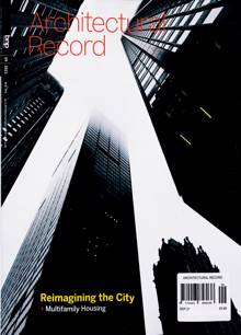 Architectural Record Magazine SEP 21 Order Online