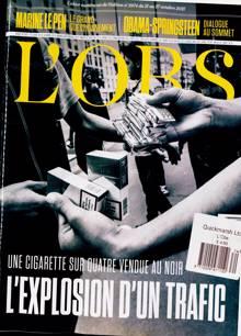 L Obs Magazine Issue NO 2974