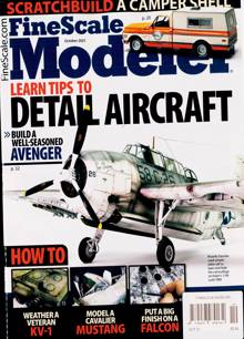 Fine Scale Modeler Magazine Issue OCT 21