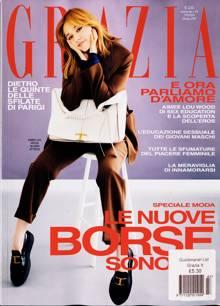 Grazia Italian Wkly Magazine Issue NO 43