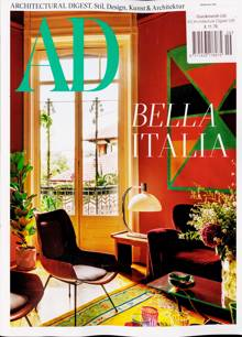 Architectural Digest German Magazine Issue NO 9