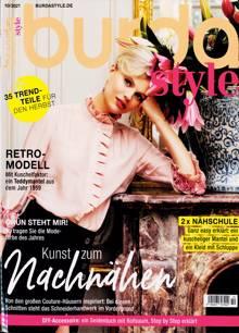 Burda Style German Magazine NO 10 Order Online