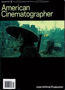 American Cinematographer Magazine 09 Order Online