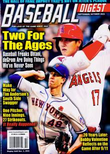 Baseball Digest Magazine 10 Order Online