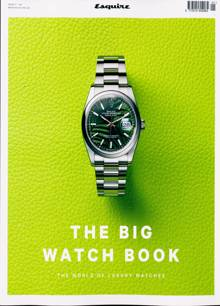 Esquire Big Watch Book Magazine 2021 Order Online