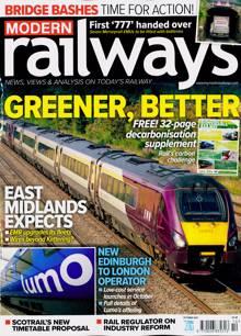 Modern Railways Magazine OCT 21 Order Online