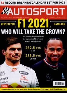 Autosport Magazine 21/10/2021 Order Online
