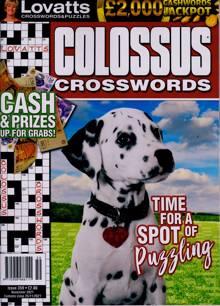 Lovatts Colossus Crossword Magazine Issue NO 359