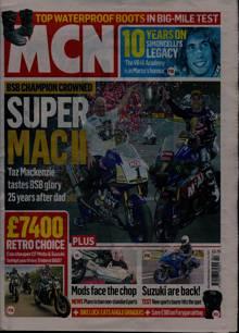 Motorcycle News Magazine 20/10/2021 Order Online