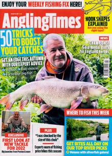 Angling Times Magazine 19/10/2021 Order Online
